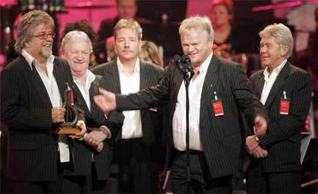 Ole Ivars vant klassen for Danseorkestre. (Foto: Lise Aserud / SCANPIX )