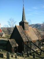 Rødven stavkirke (Foto: NRK)
