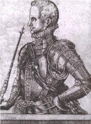 Slik så den 22-årige kongen ut i 1599 før han la ut på den dristige ekpedisjonen...