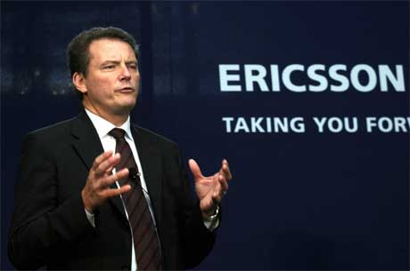 VELLØNNET: Ericsson-sjef Carl-Henric Svanberg har råd til