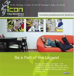 «Icon city residence» slik det markedsføres på Internett.