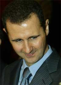 PÅ RETRETT: Syrias president Bashar al-Assad kom med løfter om tilbaketrekning. Foto: Scanpix/AFP.