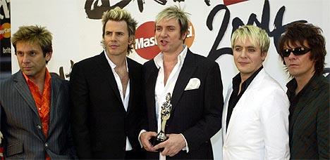 Duran Duran kommer til Roskildefestivalen i sommer. Dave Caulkin, AP Photo.