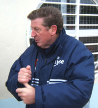 Trener Roy Hodgsons har Hannes Sigurdsson som førstevalg på topp – i spann med Egil Østenstad