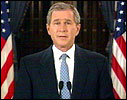 George W. Bush følger i fars fotspor og blir trolig president. (Arkivfoto)
