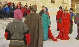 Biskopen fikk se Dale-Gudbrand gi avkall på avguder.