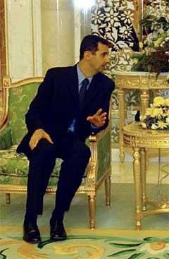 Syrias president Bashar al-Assad.(Foto:AFP)