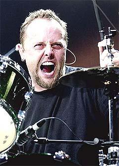 Metallica-trommis Lars Ulrich liker Beatallica svært godt. Foto: Thomas Bjørnflaten, Scanpix.
