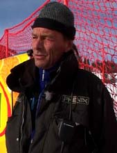 Ingar Botten er rennleder for verdenscuprennene i Kvitfjell. (Foto: Stein Schinstad/NRK)