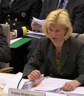 Forsvarsminister Kristin Krohn Devold(Foto:NRK)