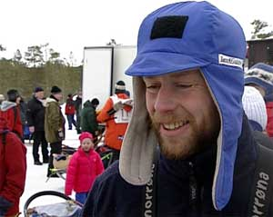 Petter Jahnsen var i fjor svært uheldig og måtte bryte i tet. I dag kjørte han ut som nummer 13.