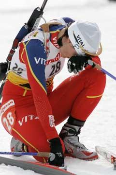 Liv Grete Poiree endte hun på en skuffende 37. plass i VM-sprinten. (Foto: Heiko Junge / SCANPIX)