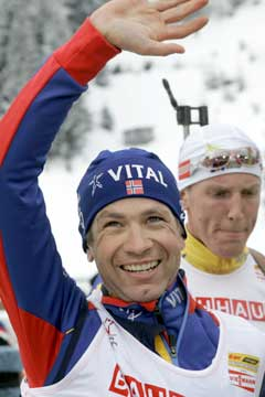 Ole Einar Bjørndalen (Foto: Heiko Junge / SCANPIX)