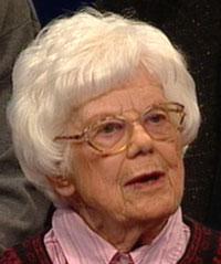 EBBA HASLUND: Produktiv forfatter for Radioteatret gjennom mange år.