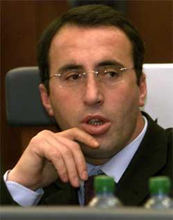 SKAPER URO: Avgangen til regjeringssjef Ramush Haradinaj kan skape ny uro på Balkan. (Foto: scanpic/Reuter=