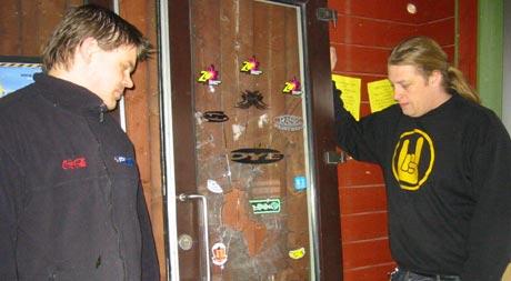 Erik Fjellum og Stian Johanson ved Mjøsa paintball har blitt frastjålet utstyr for over 100.000 kroner.
