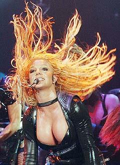 Livet var en lek for Britney Spears under hennes Onyx Hotel Tour i fjor. Foto: Dorothea Mueller, AP Photo.