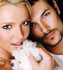 Britney Spears og ektemannen Kevin Federlane venter sitt første barn. Foto: Mark Liddell, AP Photo / People Magazine.