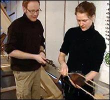 <b>Rep-øvelse: </b>Taumakeren i aksjon (Foto: NRK)