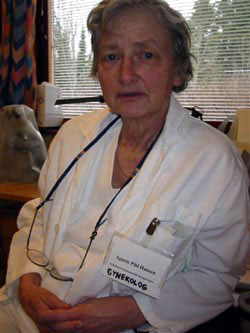 Gynekolog Agnete Pihl Hansen mener kvinner heller burde fått penger for å sterilisere seg.