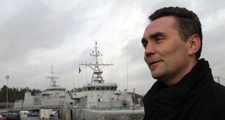 BFO-leder Didrik Coucheron blir gransket av Forsvaret etter mistanke om han har lekket opplysninger til NRK. (Arkivfoto: Marit Hommedal, Scanpix)
