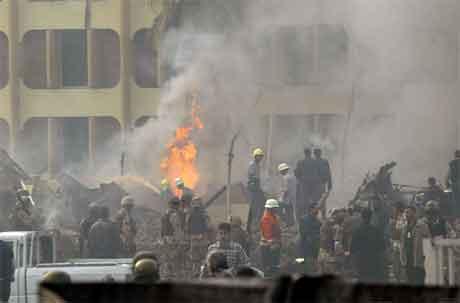 Bagdad ble rammet av en ny selvmordsbombe i dag tidlig. (Foto: AFP/Scanpix)