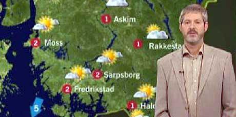 Stoler du på meteorologene?Foto: Nrk