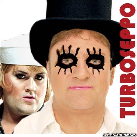 Spennende duo: Tor Endresen og Happy-Tom fra Turboneger. (Alltid Moro)