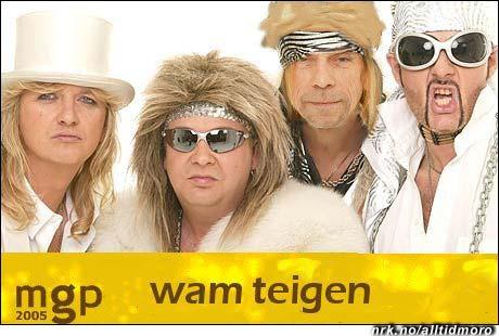 Jahn Teigen blir vokalist i gruppa, og får være med i den internasjonale finalen likevel. (Innsendt av Joachim Seyzeriat til MGP-konkurransen uke 10 / 05)