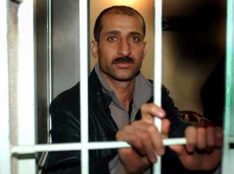Osman Omar Osman i fengselet i Irak. (Foto: Kjell A. Olsen, Adresseavisen / SCANPIX)