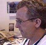 Roald Baardsen nekter å legge ned nevrokirurgisk avdeling ved SUS. Foto: Arild Eskeland