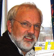 Leder i Utdanningsforbundet, Johan Søfteland. Foto: NRK