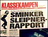 Klassekampen omtalte korresponansen mellom Kommisjon og Direktorat sist lørdag. (Foto: NRK)
