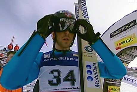 Magnus Moan var nummer fire etter hoppingen