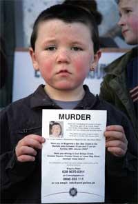 DRAP LAGER TRØBBEL: Drapet på Robert McCartney, her representert ved nevøen Coneald, kan bli begynnelsen til slutten for IRA. Foto: Reuters/Scanpix.