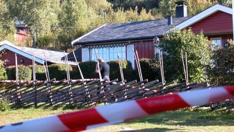 Noralf Midthus (65) ble funnet drept ved sitt hus i Nord-Aurdal 8. september i fjor. En 43 år gammel nabo ble pågrepet og mistenkt for udåden. Foto Egil Heggen / Avisa Valdres / SCANPIX