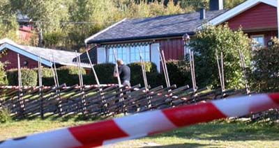 Noralf Midthus var drepen ved heimen sin. (Foto: NRK)