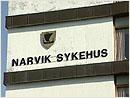 Narvik sykehus, en av tre sykehus i Hålogalands-sykehuset.