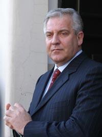 Kroatias statsminister Ivo Sanader vil inn i EU. (Foto: F.Horvat, AP)