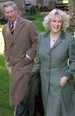 FÅ TILSTEDE: Vielsen mellom prins Charles og Camilla Parker Bowles skjer uten mediaoppbud. Foto: Scanpix.