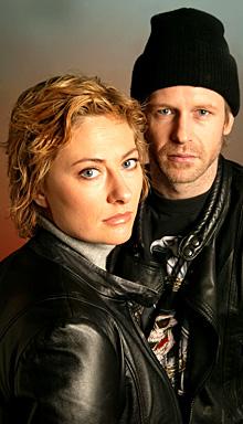 """""""Uten ekko"""" er en frittstående fortsettelse av «Død joker» som ble sendt som hørespill i 2003. (Foto: NRK/Ole Kaland)"""