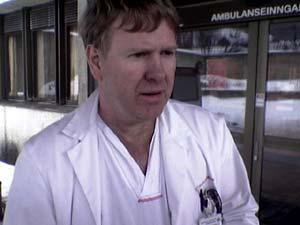 Avdelingsoverlege Roar Rønning, Sjukehuset Innlandet.