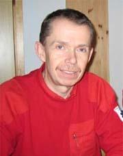 Klinikksjef Sindre Mellesmo ved Sykehuset Buskerud. Foto: Svein Olav Tovsrud, NRK.