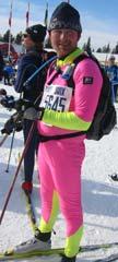 Robert Jegteberg kom i mål med tida 03:42:10. (Foto: Kari Kragset/NRK Hedmark og Oppland)