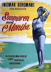 """I filmen """"Sommaren med Monika"""" fra 1953 kler skuespiller Harriet Andersson seg naken for kameraet og tripper langs svabergene i Stockholms skjærgård."""