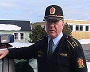 Kursleder Halvard Jøstne ved øvingssenteret i Stavern beklager at bilister blir redde.