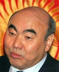 President Askar Akajev. (Foto: AP/Scanpix)