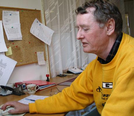 Tarald Koller fra Ringsaker er en av dem som har prøvd å komme seg tilbake i jobb etter fire år som arbeidsufør. (Foto: Jorun Vang/NRK)