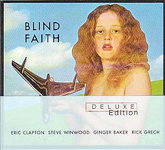 Albumet Blind Faith med Eric Clapton og Blind Faith.