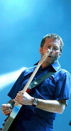 Eric Clapton har lenge hatt status, nærmest som en gitargud. Foto: Promo.